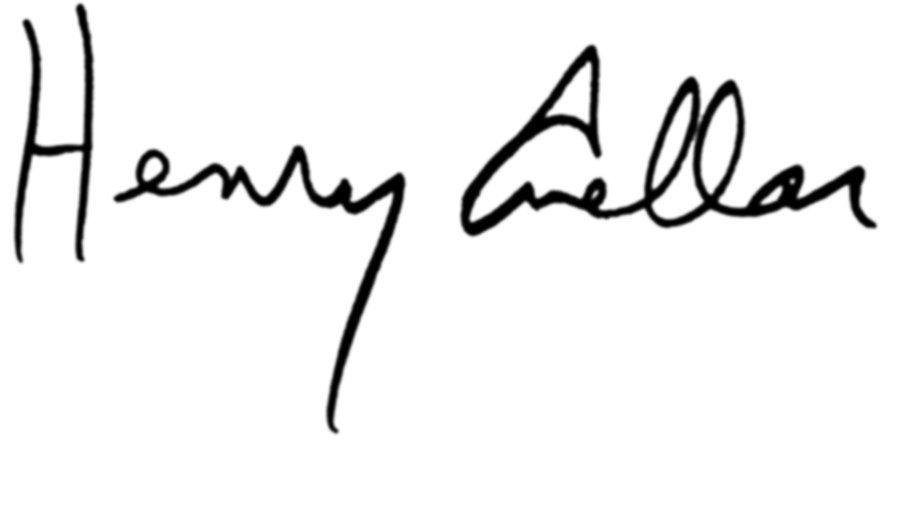Henry Cuellar Signature