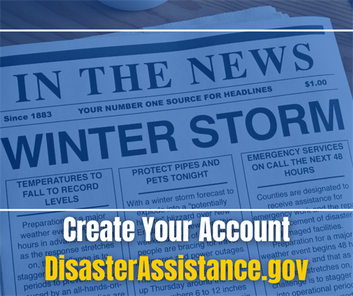 Create Your Account DisasterAssistance.gov