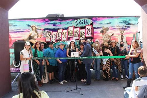 Southern Gals Boutique Ribbon Cutting 4.25.21