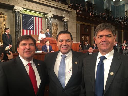 Reps  Cuellar, Vela, Gonzalez Sworn Into 115th Congress