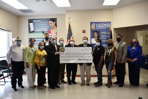 Gateway Zapata ARP funds