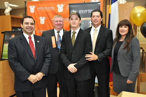 LAREDO MORNING TIMES: Accepted to West Point | Rep. Henry ...
